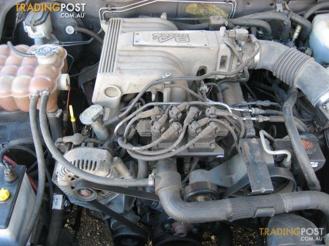 FORD AU V8 ENGINE 2001