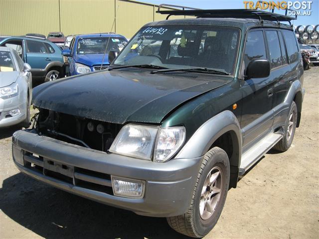 TOYOTA PRADO 2002 V6 ENGINE & TRANSMISSION  FOR SALE (CAN HEAR RUNNING)