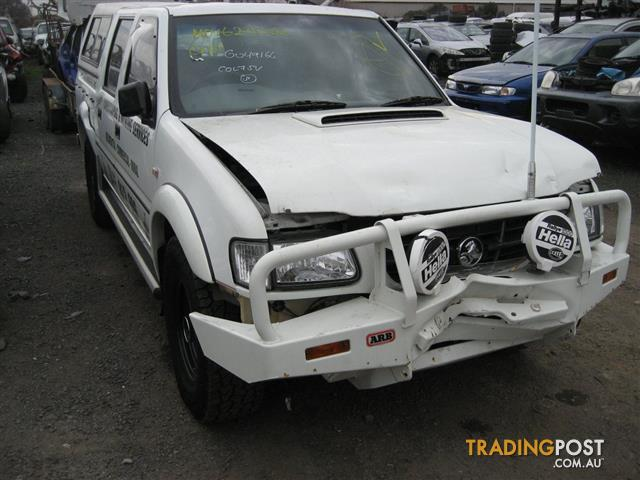 HOLDEN RODEO 2002 3LT TURBO DIESEL 4WD FOR PARTS (COMPLETE CAR)