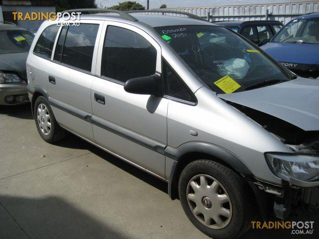 Holden Zafira 2002 Wrecking Complete Vehicle