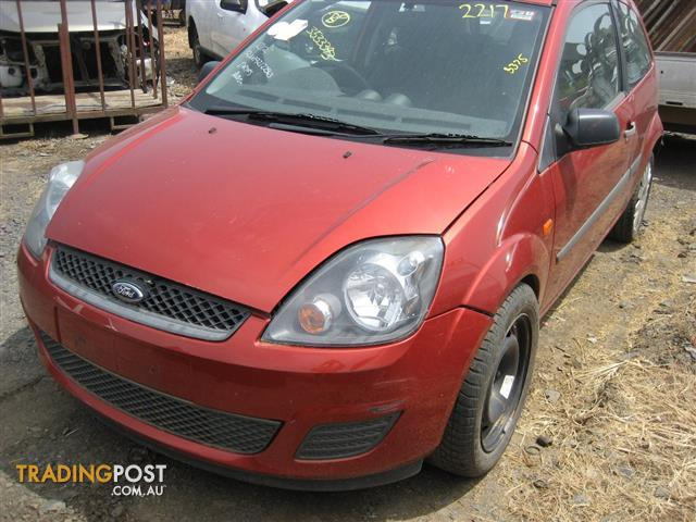FORD FIESTA WQ 2007 FOR PARTS (COMPLETE CAR)