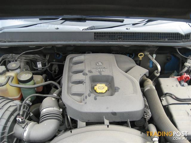 HOLDEN COLORADO 2013 RG 2.8LT TURBO DIESEL ENGINE (CAN HEAR RUNNING IN CAR)