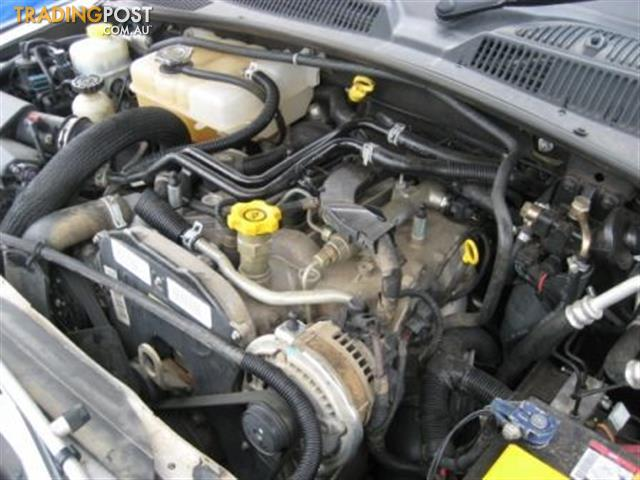 jeep cherokee kj  diesel engine