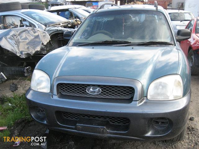 HYUNDAI SANTE FE 2002 FOR WRECKING / PARTS