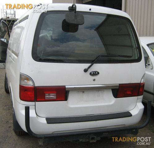 Kia Pregio 2005 Van Wrecking Complete Van
