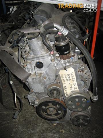 HONDA JAZZ ENGINE 1.3LT 2006 MODEL L13A1 ENGINE CODE