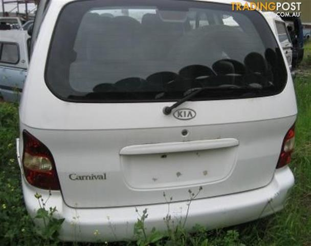 KIA CARNIVAL 2000 - COMPLETE CAR WRECKING