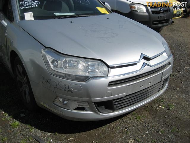 CITROEN C5 2009 TURBO DIESEL ENGINE (CAN HEAR RUNNING) AND AUTO TRANS