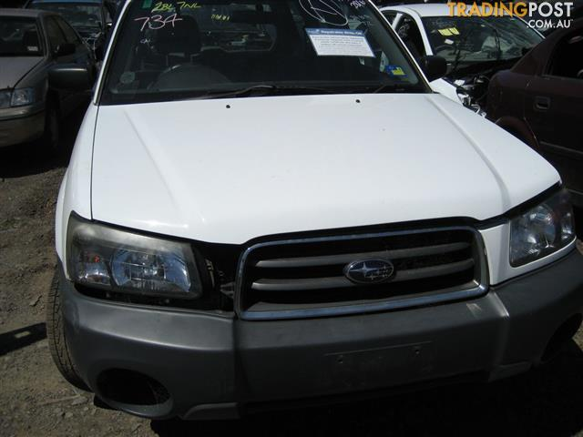 SUBARU FORRESTER 2005 FOR PARTS (COMPLETE FOR WRECKING)