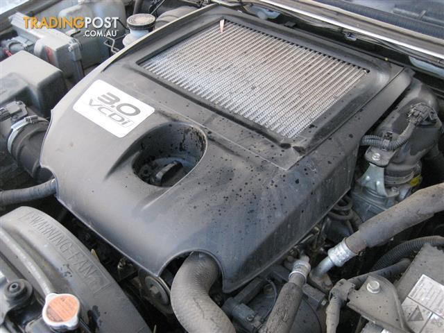 HOLDEN RODEO 2007 TURBO DIESEL 4JJ1 ENGINE 3LT