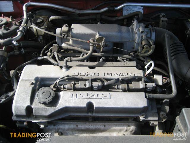 Mazda 323 or Ford Laser Engine 1.6lt 2002