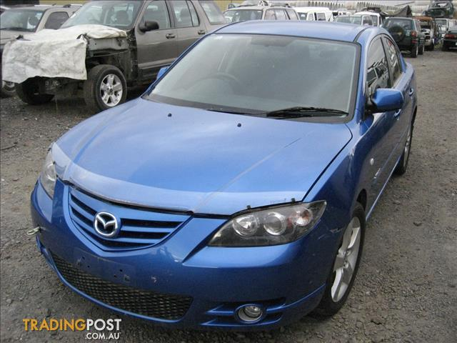 MAZDA 3 2005 SEDAN SP23 COMPLETE CAR FOR WRECKING