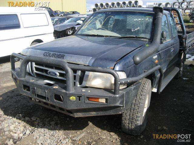 FORD COURIER 2005 TURBO DIESEL WRECKING COMPLETE CAR