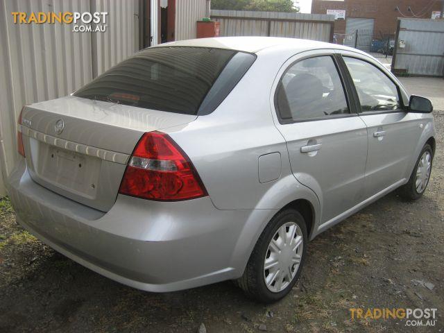 BARINA TK 2008 SEDAN (complete car for wrecking)