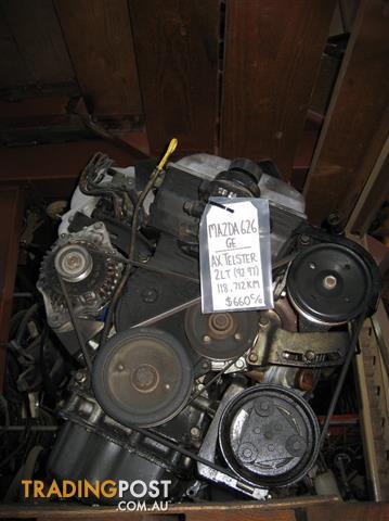 MAZDA 626 GE 2LT ENGINE (94 MODEL)