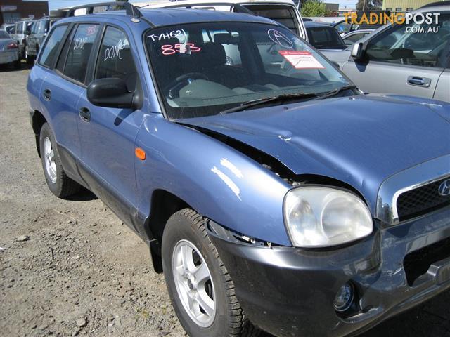 HYUNDAI SANTE FE 2001 FOR PARTS COMPLETE CAR