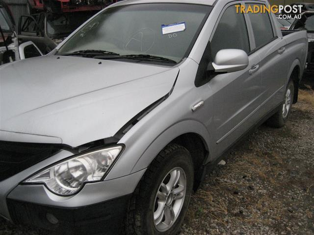 SANG YONG ACTYON 2011 UTE FOR PARTS