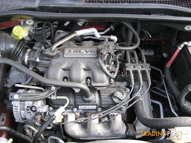 CHRYSLER GRAND VOYAGER 2009 ENGINE V6 3.8LT (CAN HEAR RUNNING)