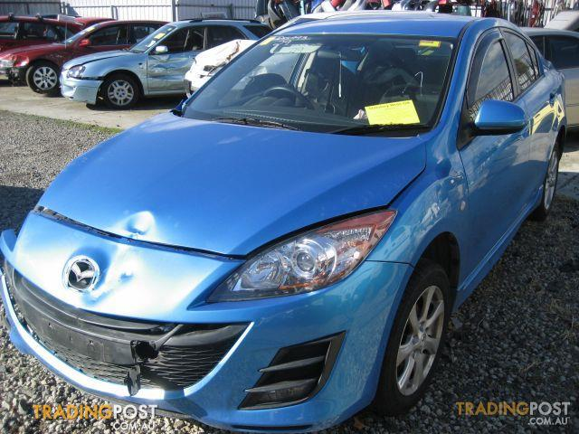 MAZDA 3 2010 SEDAN COMPLETE CAR FOR WRECKING