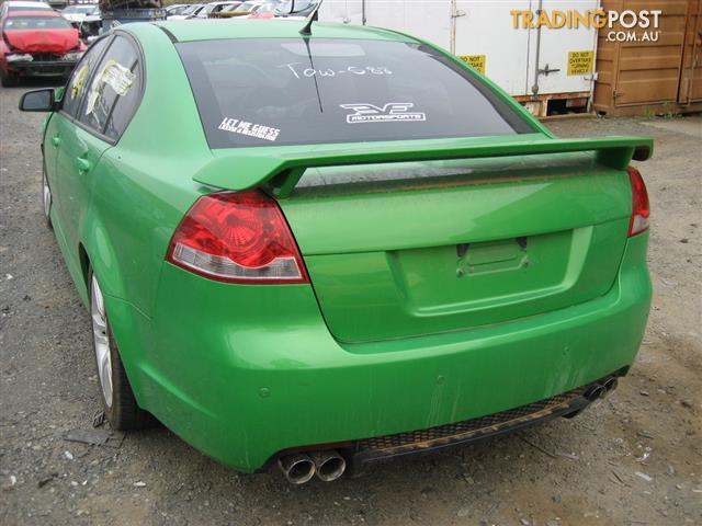 HOLDEN COMMODORE VE 2009 SV6 FOR PARTS