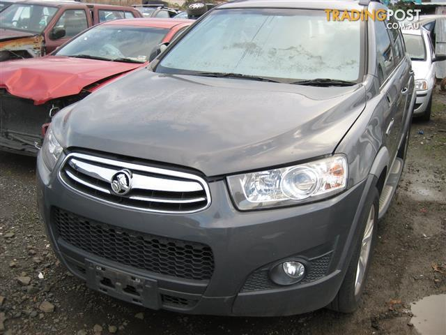 HOLDEN CAPTIVA 2013 ( 7 SEATER) FOR PARTS COMPLETE CAR
