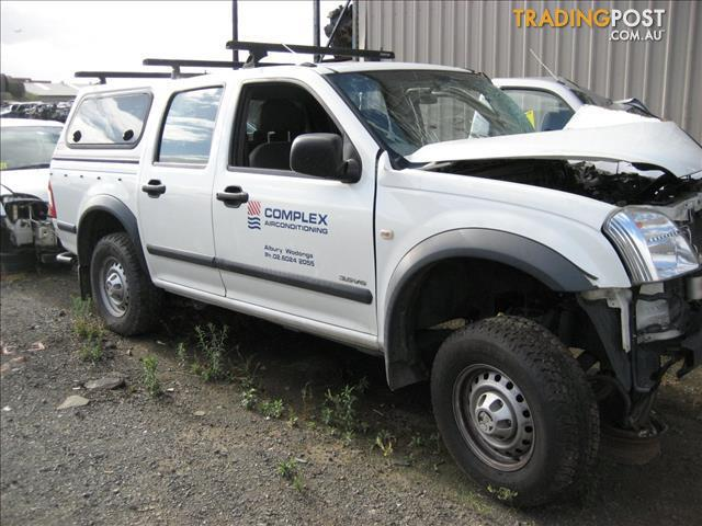 HOLDEN RODEO 2004 DISTMANTLING FOR PARTS