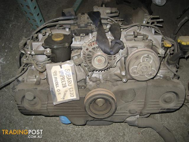 SUBARU IMPREZA 98 EJ20 ENGINE