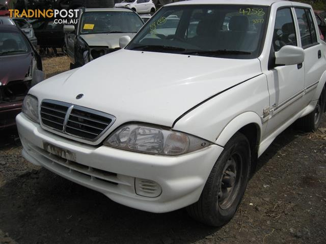 SANG YONG MUSSO 2005 UTE FOR WRECKING & PARTS (COMPLETE CAR) CALL US