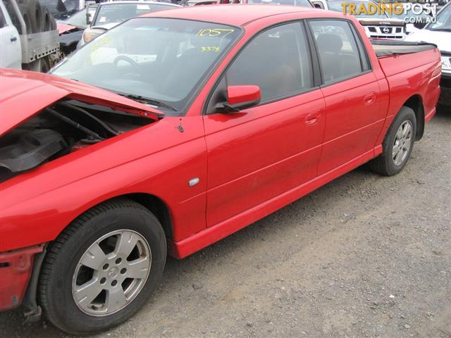 HOLDEN CREWMAN 2007 FOR WRECKING  MANY PARTS