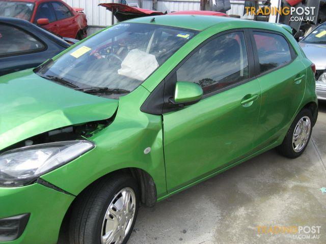 MAZDA 2 2010 5 DOOR HATCH (wrecking complete vehicle)