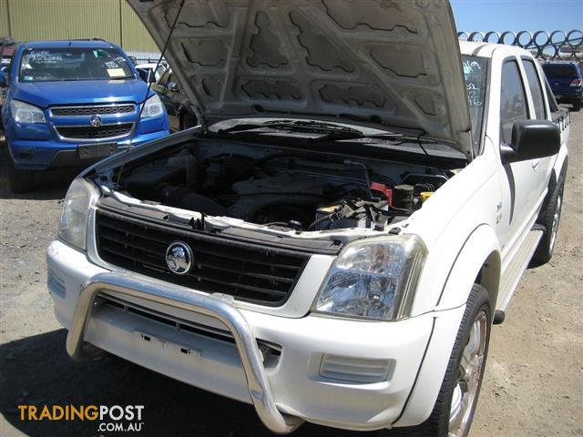 HOLDEN RODEO 2005 FOR WRECKING (COMPLETE CAR) DAUL CAB