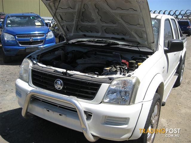 HOLDEN RODEO 2005 DUAL CAB FOR PARTS (COMPLETE CAR)