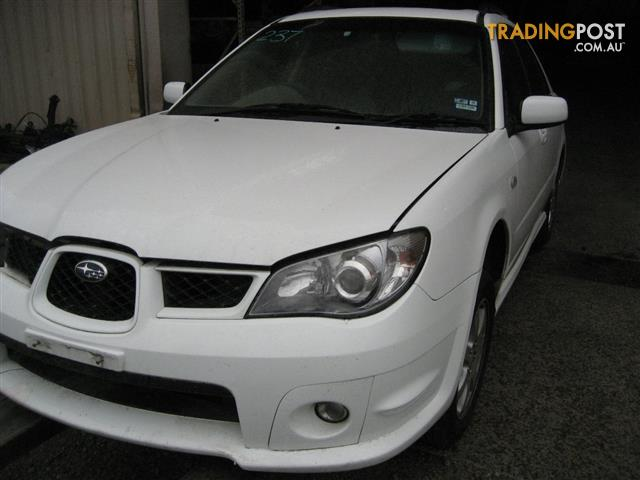 SUBARU IMPREZA 2006 HATCH FOR PARTS COMPLETE CAR