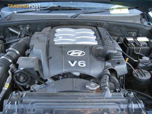 Hyundai Terracan 2003 V6 3 5lt Engine Can Hear Running