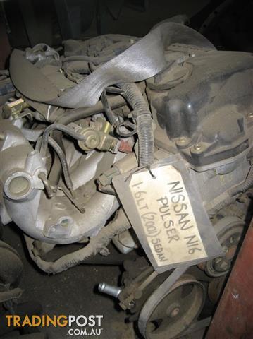 NISSAN PULSER N16 1.6LT & 1.8LT ENGINES