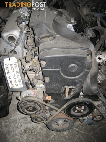 HYUNDAI I30 2009 2LT ENGINE (LOW KMS)