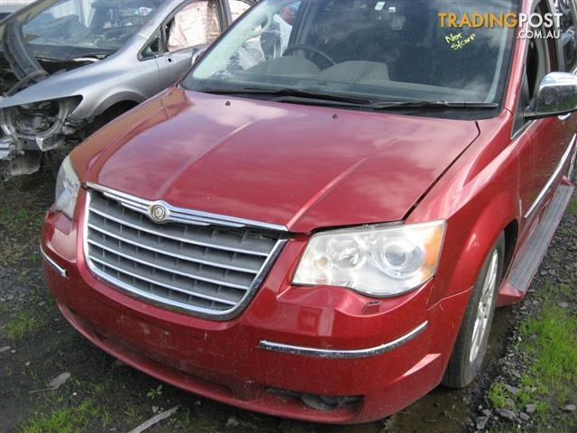 CHRYSLER GRAND VOYAGER  2008 FOR WRECKING (COMPLETE CAR)