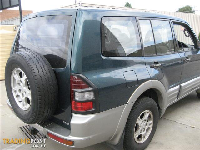 PAJERO 2001 V6 NM FOR WRECKING, MANY PARTS