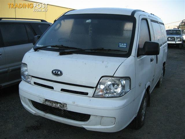 KIA PREGIO 2005 FOR WRECKING (MANY PARTS FOR SALE)
