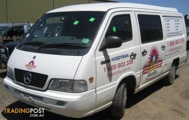 mercedes mb140 2001 van for wrecking