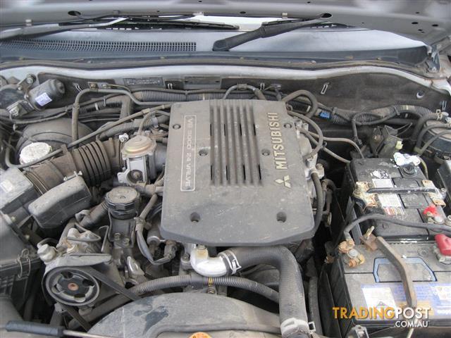 MITSUBISHI CHALLENGER OR MK TRITON V6 3LT ENGINE ( CAN HEAR RUNNING)