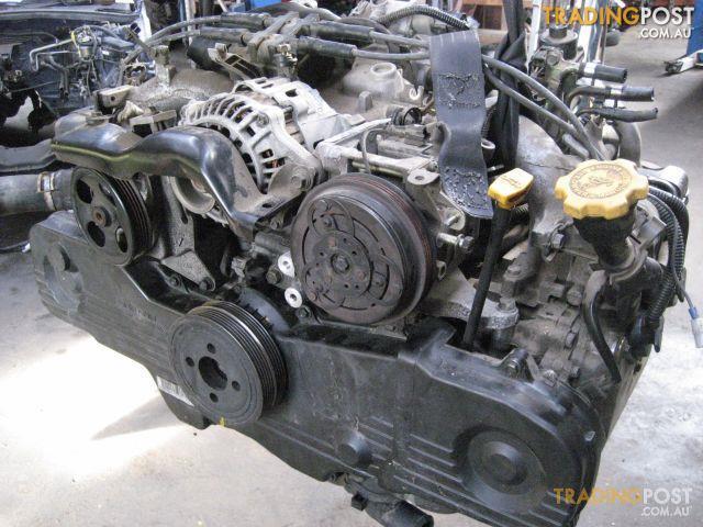 SUBARU FORRESTER 2004 EJ25 ENGINE
