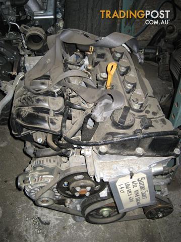 SUZUKI SWIFT 2013 1.4LT ENGINE