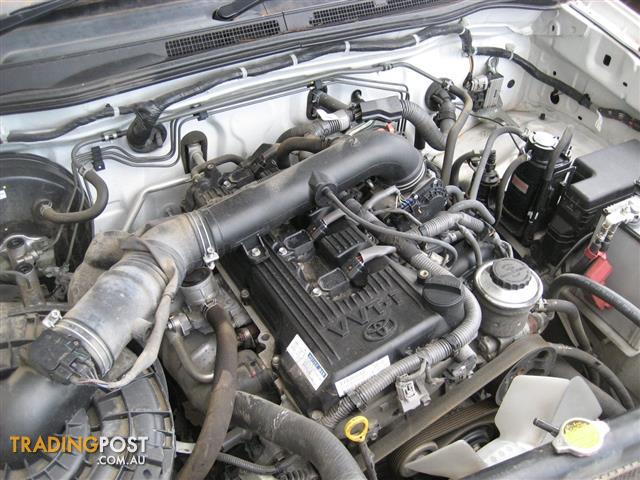 TOYOTA HILUX 2010 2TR 2.7LT ENGINE (CAN HEAR RUNNING) VERY GOOD ENGINE LOW KMS