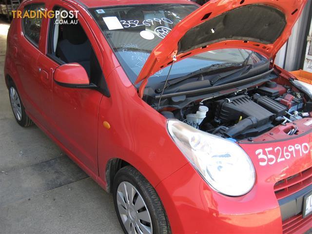 SUZUKI ALTO 2012 FOR PARTS (COMPLETE CAR) CALL US