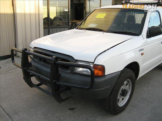 FORD COURIER 2000 DUAL CAB 4WD FOR WRECKING
