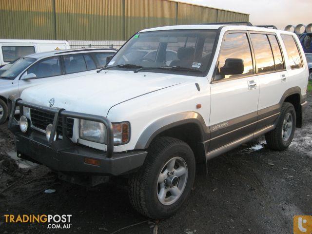 Holden Jackaroo 1996 Wrecking Complete Car