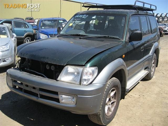 TOYOTA PRADO 2002 FOR PARTS & WRECKING (3 COMPLETE CARS)