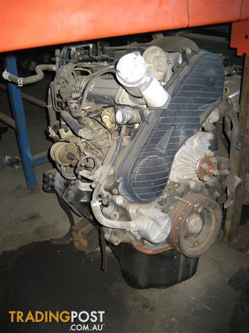 FORD COURIER OR MAZDA BRAVO 2.5LT TURBO DIESEL ENGINE WL