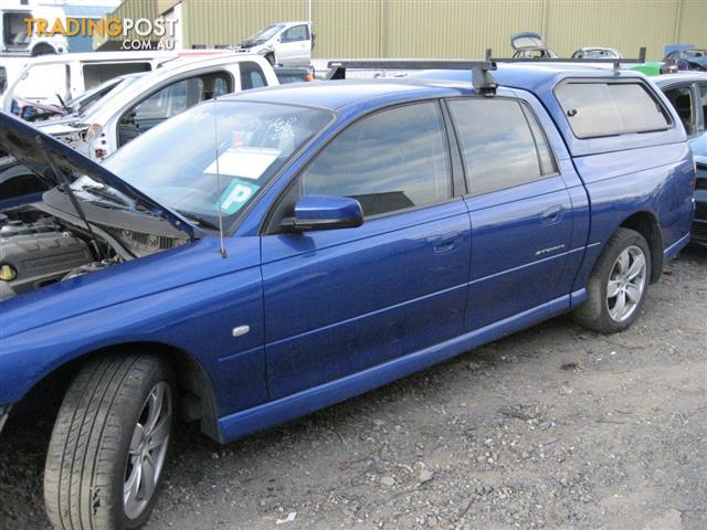 VZ HOLDEN CREWMAN FOR WRECKING & VZ HOLDEN CREWMAN FOR WRECKING for sale in Campbellfield VIC | VZ ...